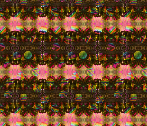 424 Colorful Buddha fabric by henriyoki on Spoonflower - custom fabric