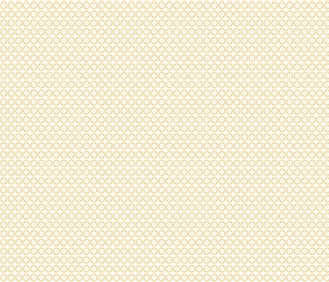 Bankers Daisy : Light neutral  fabric by cherryandcinnamon on Spoonflower - custom fabric