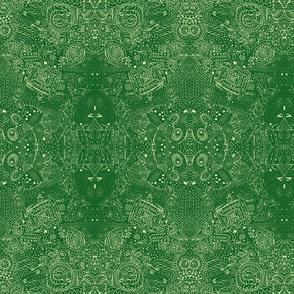 Grandma's Handkerchief Grassy Doodle Spiral Swirlygigs