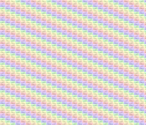 RainbowSheep fabric by luvinewe on Spoonflower - custom fabric