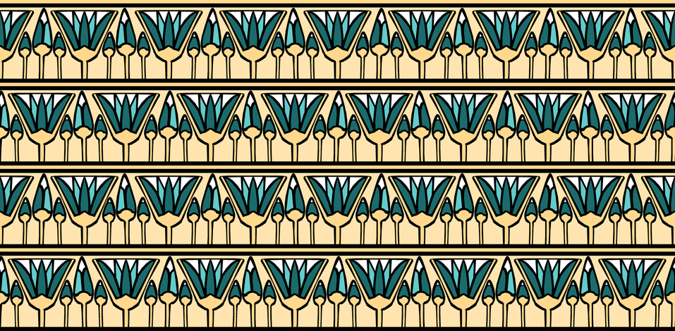 Teal Lotus fabric by pond_ripple on Spoonflower - custom fabric