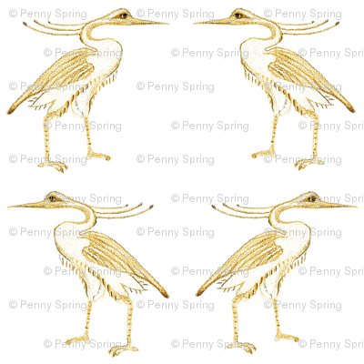 Egyptian Herons #1