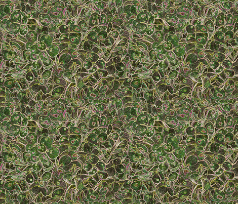 """Hydrangea Green"" fabric by jeanfogelberg on Spoonflower - custom fabric"