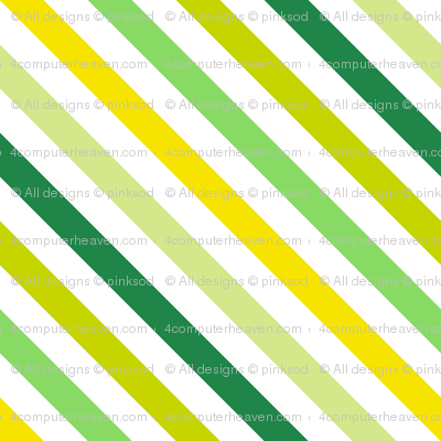 Diagonal Striped! - Luck Be With You - © PinkSodaPop 4ComputerHeaven.com