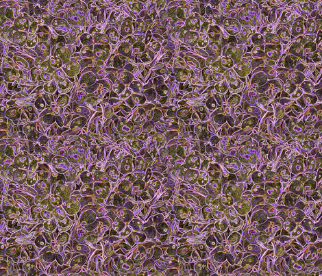 """Hydrangea Purple"" fabric by jeanfogelberg on Spoonflower - custom fabric"