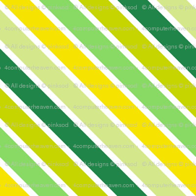 Mini Diagonal Striped! - Luck Be With You - © PinkSodaPop 4ComputerHeaven.com