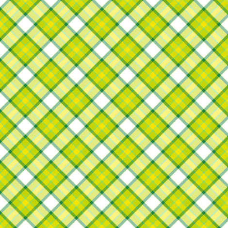 Tartan! - Luck Be With You - © PinkSodaPop 4ComputerHeaven.com fabric by pinksodapop on Spoonflower - custom fabric