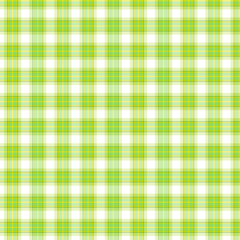 Plaid! - Luck Be With You - © PinkSodaPop 4ComputerHeaven.com fabric by pinksodapop on Spoonflower - custom fabric