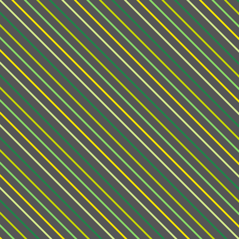 Mini Diagonal Striped! - Luck Be With You - © PinkSodaPop 4ComputerHeaven.com fabric by pinksodapop on Spoonflower - custom fabric