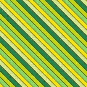 Diagonal Striped! - Luck Be With You - © PinkSodaPop 4ComputerHeaven.com