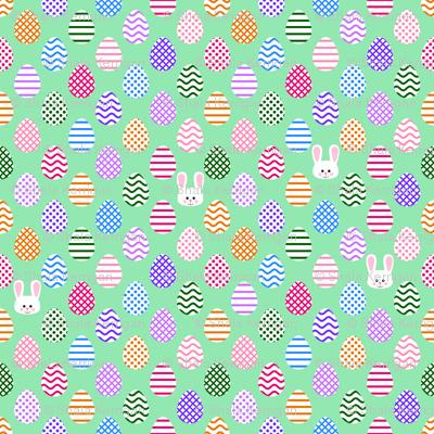 Tiny Eggs and Bunnies