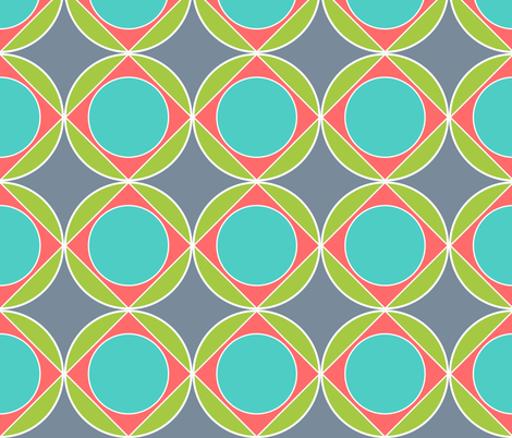 Circle in the Square fabric by vo_aka_virginiao on Spoonflower - custom fabric