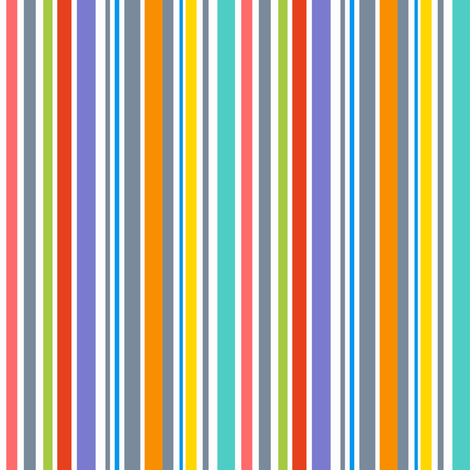 Fierce Stripes fabric by vo_aka_virginiao on Spoonflower - custom fabric