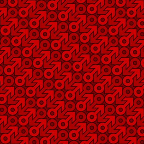 mars 2mg X 2 fabric by sef on Spoonflower - custom fabric