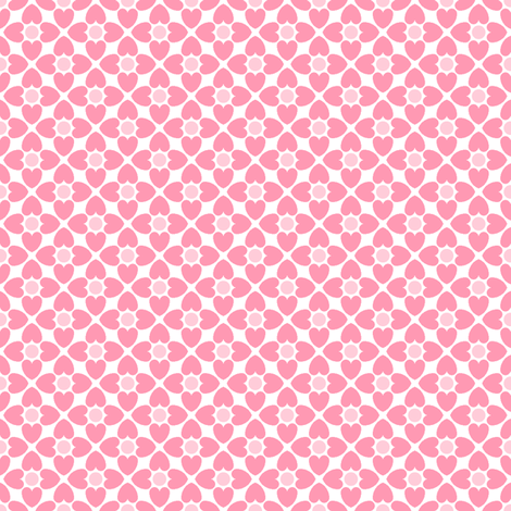 hearts fabric by sef on Spoonflower - custom fabric