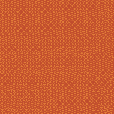 Orange_hexiesf fabric by gsonge on Spoonflower - custom fabric