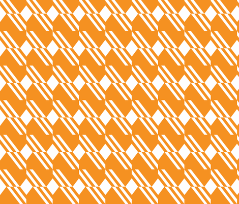 Across the diagonal fabric by occiferbetty on Spoonflower - custom fabric