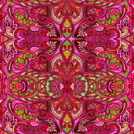 Have You Seen My Little Red Rooster fabric by edsel2084 on Spoonflower - custom fabric