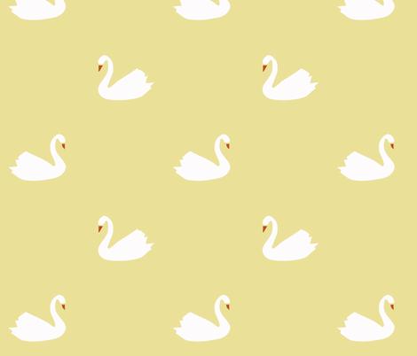 swan yellow