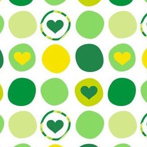 Blarney Dots O' Love! - Luck Be With You - © PinkSodaPop 4ComputerHeaven.com