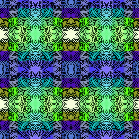 Not Your Typical Tartan fabric by edsel2084 on Spoonflower - custom fabric