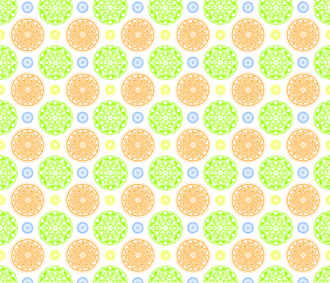 Medallion_fabric_-_multi__white_background fabric by cameronhomemade on Spoonflower - custom fabric