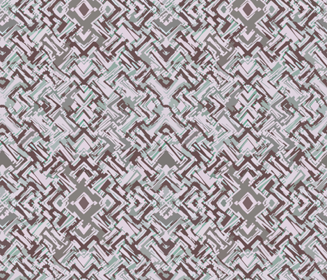 pastel_tribal fabric by neverwhere on Spoonflower - custom fabric