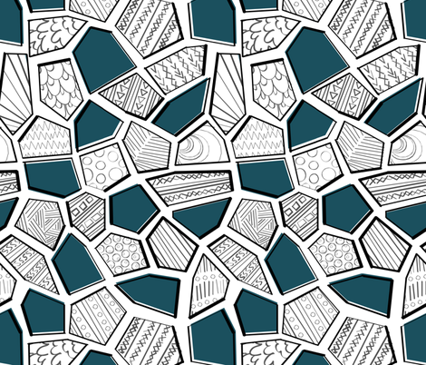 cells fabric by neverwhere on Spoonflower - custom fabric