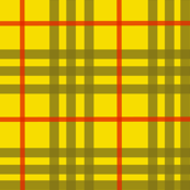 celtic gold plaid