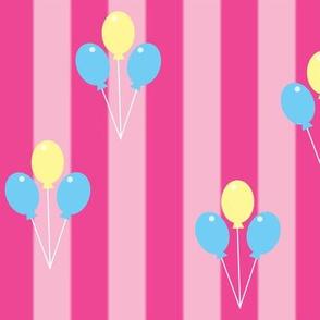 Pink Carnival Stripe