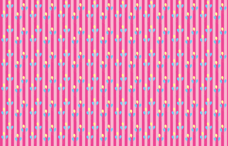 Pinkie Pie Stripes fabric by makersway on Spoonflower - custom fabric