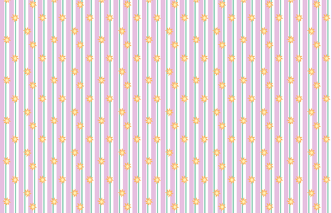 MLP Celestia Stripe fabric by makersway on Spoonflower - custom fabric