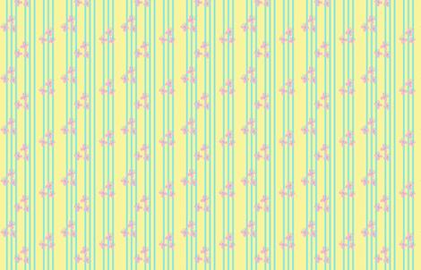 MLP Fluttershy Stripe fabric by makersway on Spoonflower - custom fabric