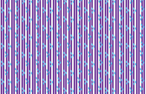 MLP Rarity Stripe fabric by makersway on Spoonflower - custom fabric