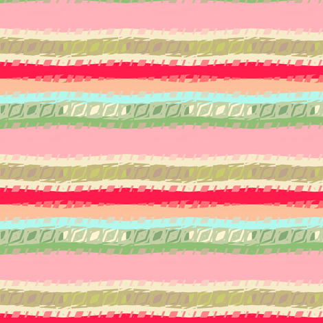 Nursery Geometric stripe fabric by joanmclemore on Spoonflower - custom fabric