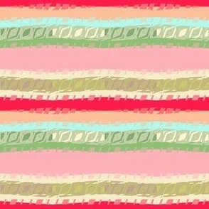 Nursery Geometric stripe