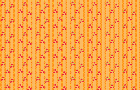 MLP Applejack Stripe fabric by makersway on Spoonflower - custom fabric