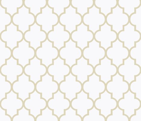 Soft Khaki on White fabric by sparrowsong on Spoonflower - custom fabric