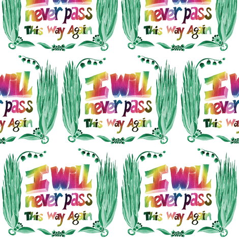 Pass This Way fabric by spontaneouscombustion on Spoonflower - custom fabric