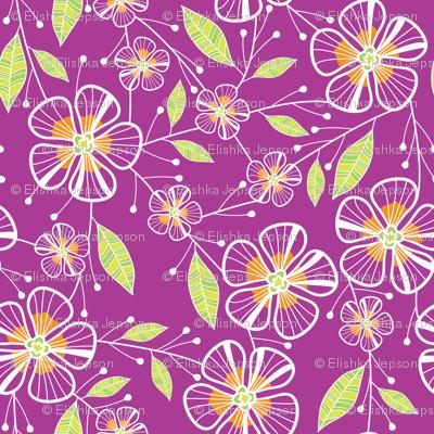 Bouquet Flowers (Pink)