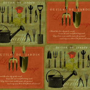 Outils de Jardin [Garden Tools]