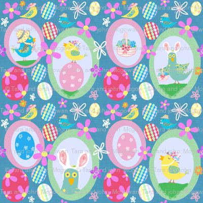 Easter Birdie Egg Hunt