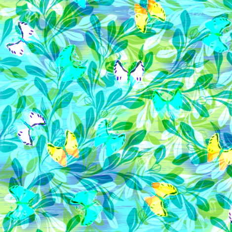 shimmering_sunlight 3x fabric by glimmericks on Spoonflower - custom fabric