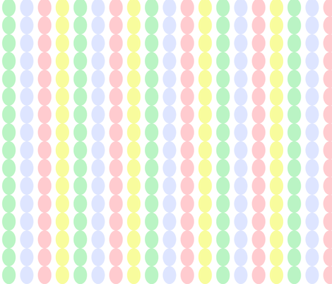 Pastel Easter Eggs fabric by arttreedesigns on Spoonflower - custom fabric