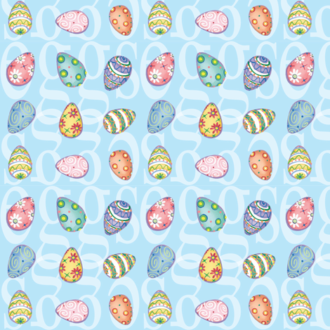 eggfabric fabric by dana_simson on Spoonflower - custom fabric
