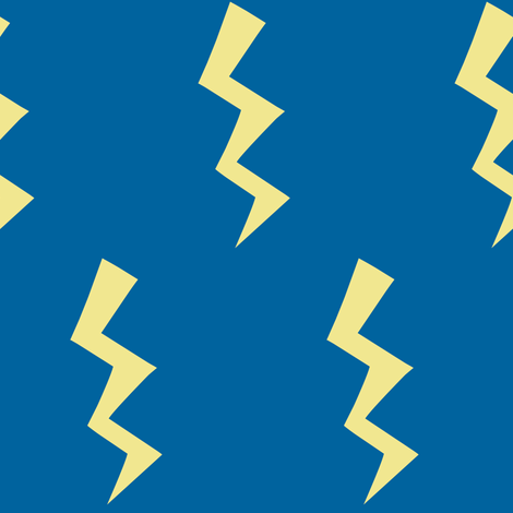 IT'S ELECTRIC! - Rock  fabric by pinksodapop on Spoonflower - custom fabric
