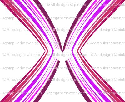 Ribbon Lattice - Raspberry Heart - © PinkSodaPop 4ComputerHeaven.com