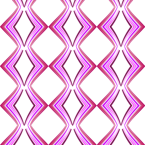 Ribbon Lattice - Raspberry Heart - © PinkSodaPop 4ComputerHeaven.com