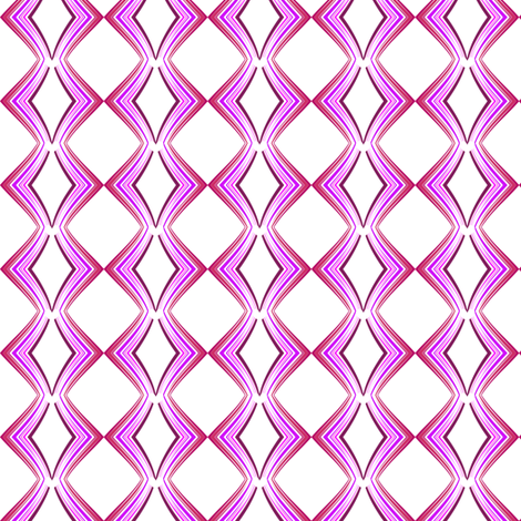 Ribbon Lattice - Raspberry Heart - © PinkSodaPop 4ComputerHeaven.com fabric by pinksodapop on Spoonflower - custom fabric