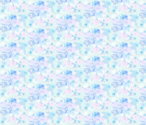 spring flowers fabric by krs_expressions on Spoonflower - custom fabric